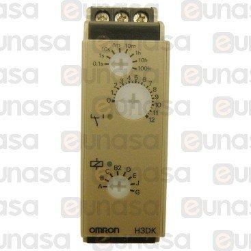 Temporizador H3DK-M1 24/240V AC/DC Omi Spdt