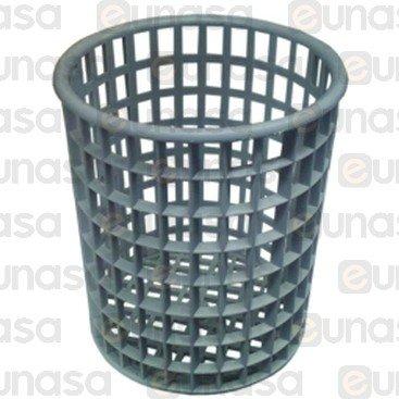 Cesto Cubiertos Ø110x125mm Plástico