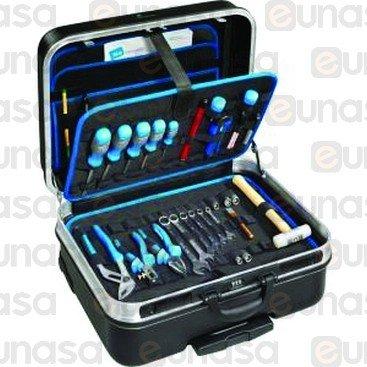 16511 maleta para herramientas negra con trolley maleta - Maletas para herramientas ...