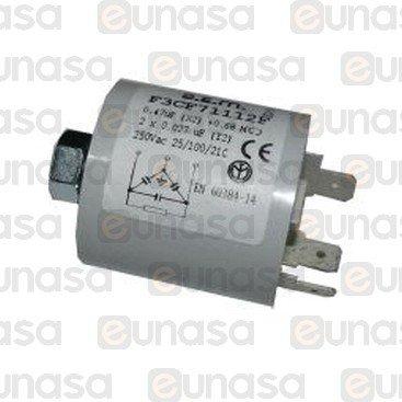 Filtro Antiparasitario 0.47µF 250V
