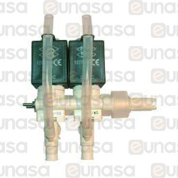Electrovalvula 2 Modulos 24V Dc Izquierda