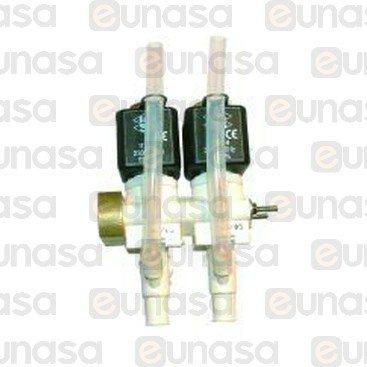 """Electrovalvula 2 Modulos 230V Derecha 1/4"""""""