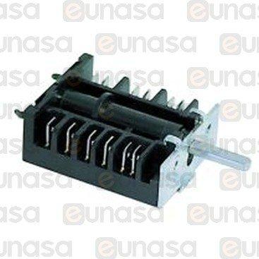 Interruptor 6 Posiciones 16A 250V