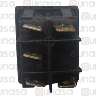 Gren Switch With Pilot Lamp 30x22mm 230V