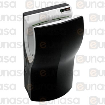 Dualflow Plus Black Abs Hand Dryer 230V