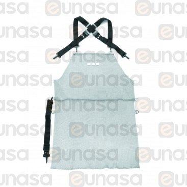 Delantal Cota De Malla Inox 800x550mm