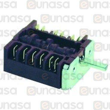 Interruptor 5 Posiciones 16A 250V