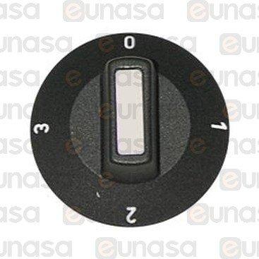 Switch Knob Gyros Grill  Ø6x4,6mm
