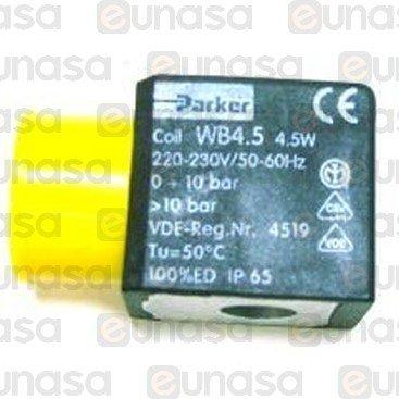 Electropump Coil 3/8 230V 4.5W Parker