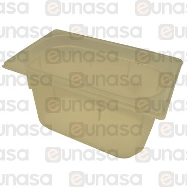 Cubeta Gastronorm 1/4 150mm Polipropileno