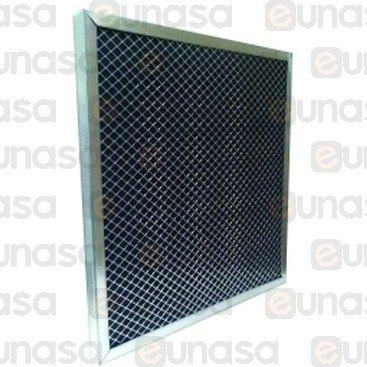 34458 filtro campana carbon activo 49x49x2 5cm filtro campana extractora - Campana carbon activo ...