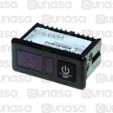 Termómetro Digital AKO-14012 71x29mm 12/24V
