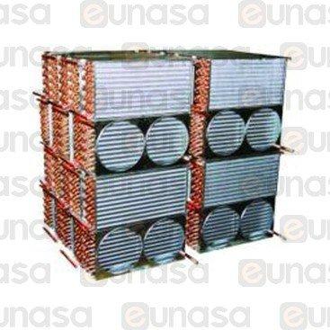 Condenser 12x4 3115W 1xØ300mm