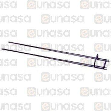 Espada Doble Asador Pollos BA-7