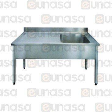 Lavello Con Cornice 1000x700mm Escurridor I