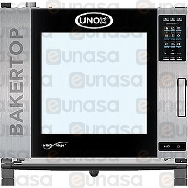 Bakertop Plus 6 Forno Misto 600x400 400V 14kW