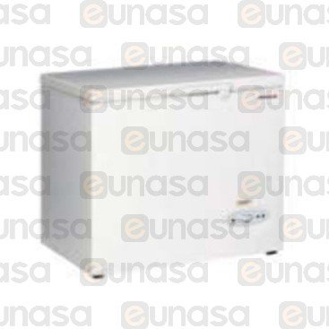 284L Aluminium Chest Freezer 1040x650x850mm