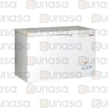365L St Steel Chest Freezer 1270x650x850mm