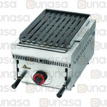 Counter Top Gas Steel Lava Rock Grill PB-30
