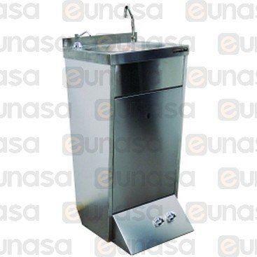 2 Water Base Wash Basin 400x400x850mm