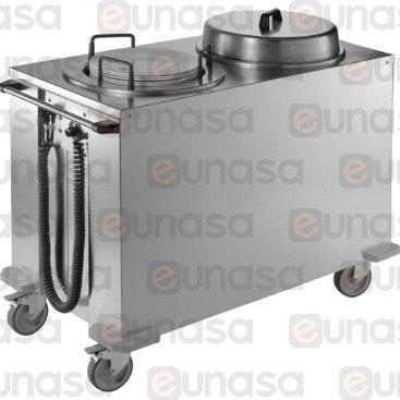Plate Warmer Trolley 800W 604x1138x850mm