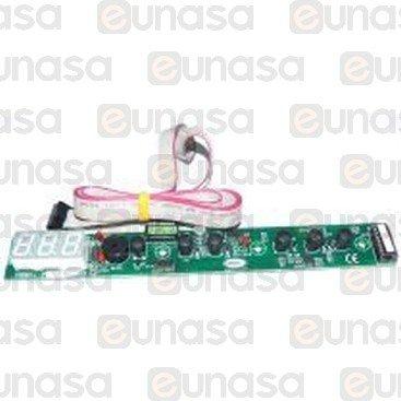 Placa Electrónica Con Display Horno