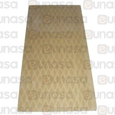 Piedra Horno 660x330x14mm Pizza Group