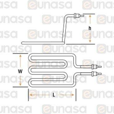 Fryer Heating Element 2500W 230V