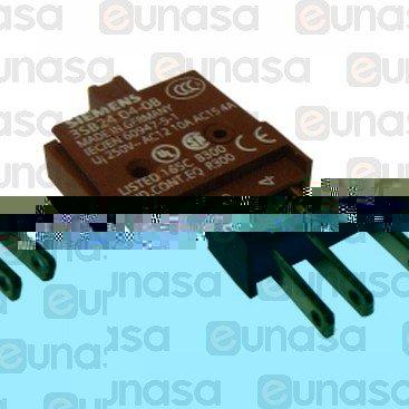 Pulsador Con Bloque De Contacto 230V Ac 1NO