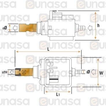 Bomba Vibratoria 48W 230V EX5