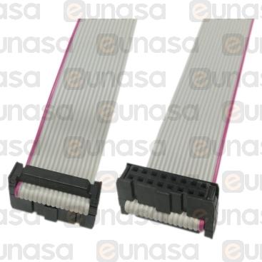 Cable Plano Pin 8x2 Vías Hembra 1100mm