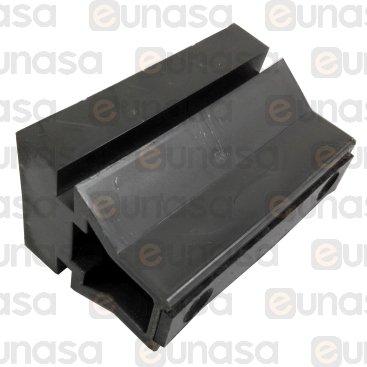 Soporte Guías Estacas 79x45x52mm