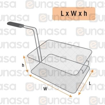 Fryer Basket 165x340x150mm