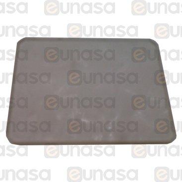 Cristal Lámpara Horno 74x58x3mm