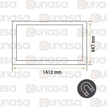 Burlete 1412x647mm Pvc Blanco