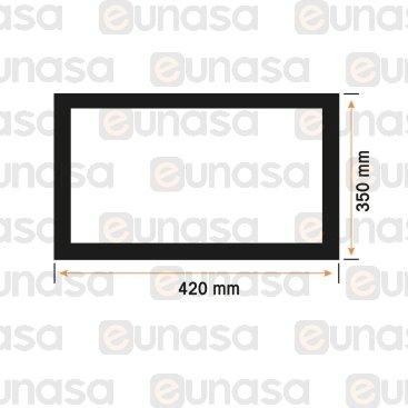 Burlete 420x350mm Horno