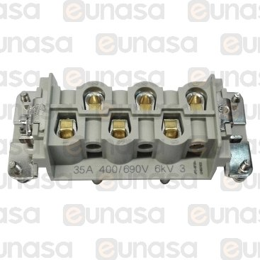 Conector Hembra 400/690V 35A