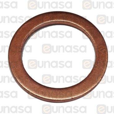 Junta Cobre Ø23x17,4x1,5mm