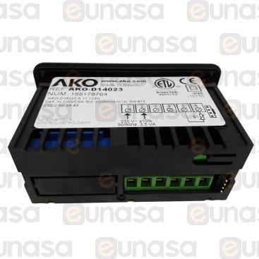 Termómetro Digital AKO-D14023 71x29mm 230V
