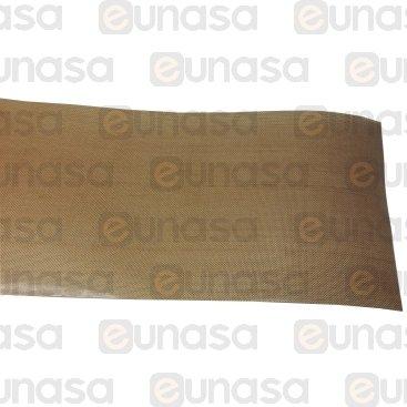 Pegatina Teflón 75mm Ancho 0.13mm Espesor 1m