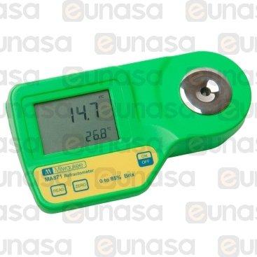 Refractometro Digital 0-85% Brix