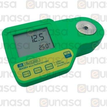 Réfractomètre                  DIG.0-50 0-25