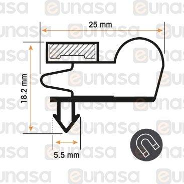 Burlete 1600x670mm