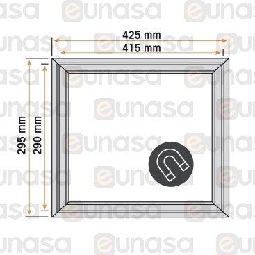 Burlete 420x295mm Pvc Gris
