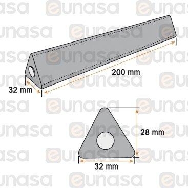 Barra Picamarro Triángular Gbreaker 200mm