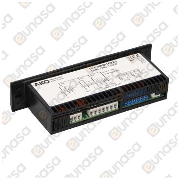 Temostato Digital 2 Relés 230V Ac AKO-10223