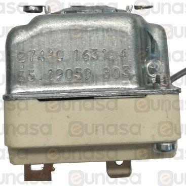 Termostato 230V 16A 50/260°C