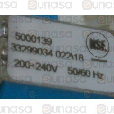 Electroválvula 1 Vía Horizontal 230V 6.4W