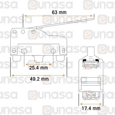 MKV11D30 MICRO-SWITCH L500(22)P1