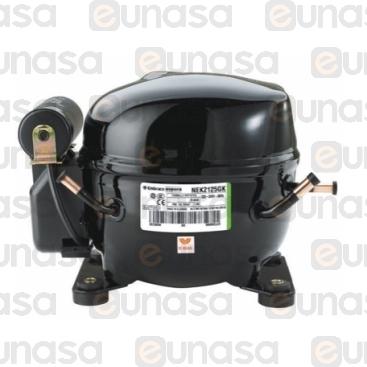Compresor NEU2168U R-290 3/4 Hp 230V 50Hz